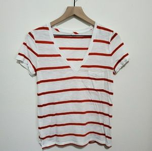 Madewell | Cotton V-Neck Tee
